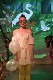 """""""Blackberry Winter"""" by Steve Yockey, at Vermont Stage in Burlington, Vt., through March 26. Pictured: Sarah Mell. (Photo by Lindsay Raymondjack Photography)"""