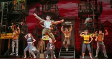"""""""A Bronx Tale: The Musical"""" by Chazz Palminteri, Alan Menken, and Glenn Slater, at Paper Mill Playhouse in Milburn, N.J., in 2016. (Photo by Jerry Dalia)"""