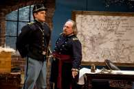 """""""Butler"""" by Richard Strand, at Florida Studio Theatre in Sarasota, Fla. through Feb. 26. Pictured: Joe Ditmyer and Eric Hoffmann. (Photo by Matthew Holler)"""
