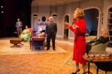 """""""City of Conversation"""" by Anthony Giardina, at Delaware Theatre Company in Wilmington, Del., through Nov. 13. Pictured: Dan Kern, Drucie McDaniel, Buck Schirner, Susan Wilder, and Jessica Bedford. (Photo by Matt Urban, Mobius New Media)"""