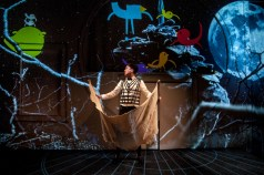 """""""Climbing With Tigers"""" adapted by Troy Deutsch from Nathan Glad and Dallas Graham, a coproduction with Flying Bobcat Theatrical Laboratory at Salt Lake Acting Company in Salt Lake City, through March 27. Pictured: Austin Archer. (Photo by Caitlin Blue)"""