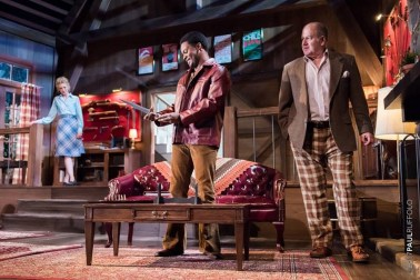 """""""Deathtrap"""" by Ira Levin, at Milwaukee Chamber Theatre through Aug. 27. (Photo by Paul Ruffolo)"""
