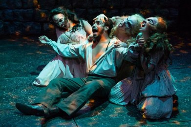 """Fifth Bank's Dracula,"" adapted by William McNulty from Bram Stoker, at Actor's Theatre of Louisville in Louisville, Ky., through Nov. 2. (Photo by Bill Brymer)"
