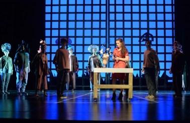 """Far Away"" by Caryl Churchill, a California State University–Long Beach production at California Repertory Theatre in Long Beach through Dec. 5. (Photo by Keith Ian Polakoff)"