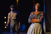 """""""Fences"""" by August Wilson, at California Shakespeare Theatre in Orinda, Calif., through July 31. Pictured: Aldo Billingslea and Margo Hall. (Photo by Kevin Berne)"""