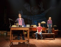 """Fun Home,"" by Jeanine Tesori and Lisa Kron, at 5th Avenue Theatre in Seattle through July 30. Pictured: Kate Shindle, Abby Corrigan, and Carly Gold."