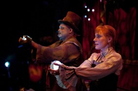 """The Ghastly Dreadfuls,"" by Jon Ludwig and Jason Hines, at Center for Puppetry Arts in Atlanta, through Oct. 29."