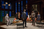 """""""Guess Who's Coming to Dinner"""" by Todd Kreidler, at Indiana Repertory Theatre in Indianapolis, Ind., through Feb. 4. (Photo by Zach Rosing)"""