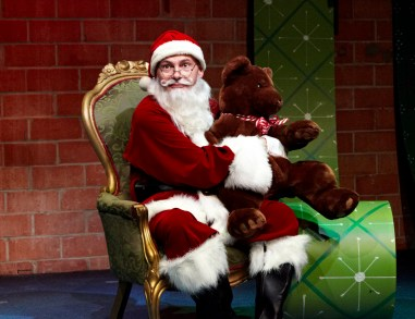 """""""Ho Ho Humbug 2.0"""" by Scott Burkell, at Stark Naked Theatre Company in Houston through Dec. 23. Pictured: Burkell. (Photo by Gabriella Nissen)"""