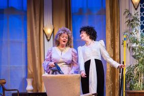 """The Legends"" by James Kirkwood, at Meadow Brook Theatre in Rochester, Mich., through Jan. 31. Pictured: Mary Gant and Ruth Crawford. (Photo by Sean Carter)"