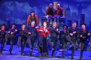 """""""Mary Poppins,"""" by Richard M. Sherman, Robert B. Sherman, Julian Fellowes, George Stiles, and Anthony Drew, at ZACH Theatre in Austin, through Sept. 4. (Photo by Kirk Tuck)"""
