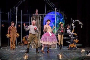 """""""A Midsummer Night's Dream"""" by Shakespeare, at American Players Theatre in Spring Green, Wisc., in 2017. (Photo by Liz Lauren)"""