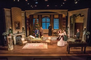 """Miss Bennet: Christmas at Pemberley,"" by Lauren Gunderson and Margot Melcon, at Boulder Ensemble Theatre Company in Boulder, Colo., through Dec. 24."