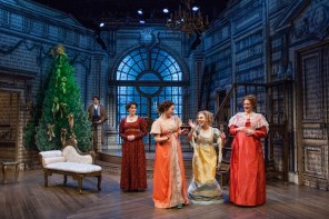 """Miss Bennet: Christmas at Pemberley,"" by Lauren Gunderson and Margot Melcon at Merrimack Repertory Theatre in Lowell, Mass., through Dec. 23."