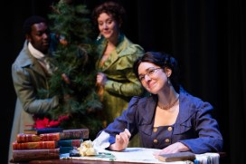 """""""Miss Bennet: Christmas at Pemberley,"""" by Lauren Gunderson and Margot Melcon, at Taproot Theatre in Seattle through Dec. 29."""