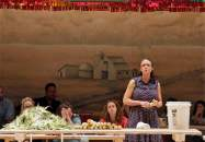 """Amber Gray in""""Oklahoma!"""" at Fisher Center for the Performing Arts at Bard College. (Photo by Cory Weaver)"""