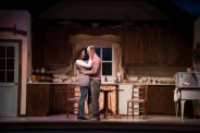 """""""Outside Mullingar"""" by John Patrick Shanley, at Clarence Brown Theatre in Knoxville, Tenn., in 2017. Pictured: Katie Cunningham and Richard Price. (Photo by Brynn Yeager)"""
