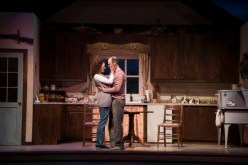 """Outside Mullingar"" by John Patrick Shanley, at Clarence Brown Theatre in Knoxville, Tenn., in 2017. Pictured: Katie Cunningham and Richard Price. (Photo by Brynn Yeager)"