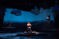 """""""Pericles"""" by Shakespeare, at the Guthrie Theater in Minneapolis, through Feb. 21. Pictured: Zlato Rizziolli, Wayne T. Carr, and Sam Wick. (Photo by Jenny Graham)"""