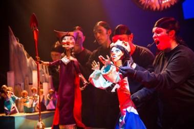 """Atlantis: A Puppet Opera"" by Chad Salvata at the VORTEX in 2016. (Photo by Errich Petersen)"