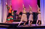 """""""Sisters of Swing,"""" by Beth Gilleland and Bob Beverage, at Centre Stage in Greenville, S.C., through Aug. 13."""