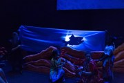 """Swimmy"" by Leo Lionni, at Stages Theatre Company in Hopkins, Minn., through Aug. 19. (Photo by Bruce Challgren)"