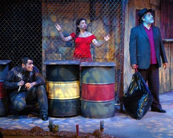 """The Ghosts of Lote Bravo"" by Hilary Bettis, at Unicorn Theatre in Kansas City, Mo., through May 8."