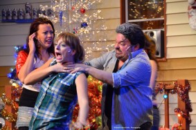 """""""The Great American Trailer Park Musical!"""" by David Nehls and Betsy Kelso, at Trustus Theater in Columbia, S.C. through Dec. 19. (Photo by Richard Arthur Király)"""