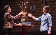 """""""The How and the Why"""" by Sarah Treem, at Theater J in Washington, D.C., through March 12. Pictured: Valerie Leonard and Katie deBuys. (C. Stanley Photography)"""