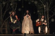 """""""The Legend of Sleepy Hollow,"""" adapted by Brian Clowdus from Washington Irving, at Serenbe Playhouse in Palmetto, Ga., through Nov. 5. (Photo by BreeAnne Clowdus)"""