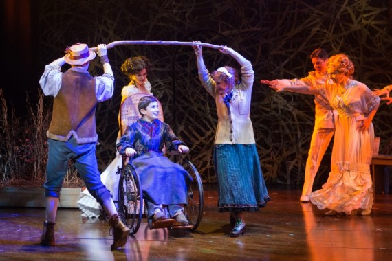 """""""The Secret Garden,"""" by Marsha Norman and Lucy Simon, at Shakespeare Theatre Company in D.C. through Dec. 31. (Photo by Teresa Wood)"""
