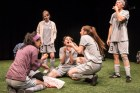 """""""The Wolves"""" by Sarah DeLappe, at Boulder Ensemble Theatre Company in Boulder, Colo., through Nov. 18. (Photo by Michael Ensminger)"""