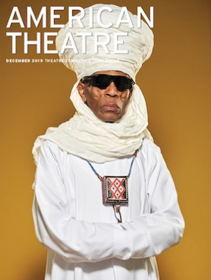André De Shields. (Photo by Chad Griffith for American Theatre)