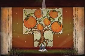 "Rendering for ""Orange"" at South Coast Repertory by set designer Michael B. Raiford."
