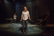 """""""Miranda"""" by James Still, at Indiana Repertory Theatre in Indianapolis, March 28-April 23. Pictures: Arya Daire, Jennifer Coombs, and Torrey Hanson. (Photo by Zach Rosing)"""