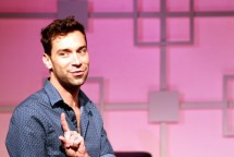 """""""Buyer & Cellar"""" by Jonathan Tolins, at Kitchen Theatre Company in Ithaca, N.Y., through Sept. 27. Pictured: Karl Gregory."""