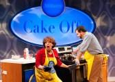"""Cake Off"" by Sheri Wilner, Julia Jordan, and Adam Gwon, at Signature Theatre in Arlington, Va., through Nov. 22. Pictured: Sherri Edelen and Todd Buonopane."