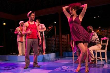 """""""Cuba Libre"""" by Tiempo Libre, Carlos Lacámara, and Jorge Gómez, at Artists Repertory Theatre in Portland, Ore., through Nov.8. (Photo by John Rudoff)"""