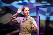 """""""Grounded"""" by George Brant, at B Street Theatre in Sacramento, Calif., through Aug. 8. Pictured: Alicia Hunt."""