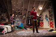 """I and You"" by Lauren Gunderson, at Merrimack Repertory Theatre in Lowell, Mass., through Nov.1. Pictured: Kayla Ferguson and Reggie D. White. (Photo by Meghan Moore)"