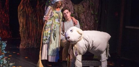 """""""Into the Woods"""" by James Lapine and Stephen Sondheim, at Theatre Workshop of Nantucket in Nantucket, Mass., through Aug. 29."""