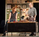 """""""Luna Gale"""" by Rebecca Gilman, at Actors Theatre of Louisville in Louisville, Ky., through Oct. 25. Pictured: Wendy Rich Stetson and Gregory Maupin. (Photo by Bill Brymer)"""