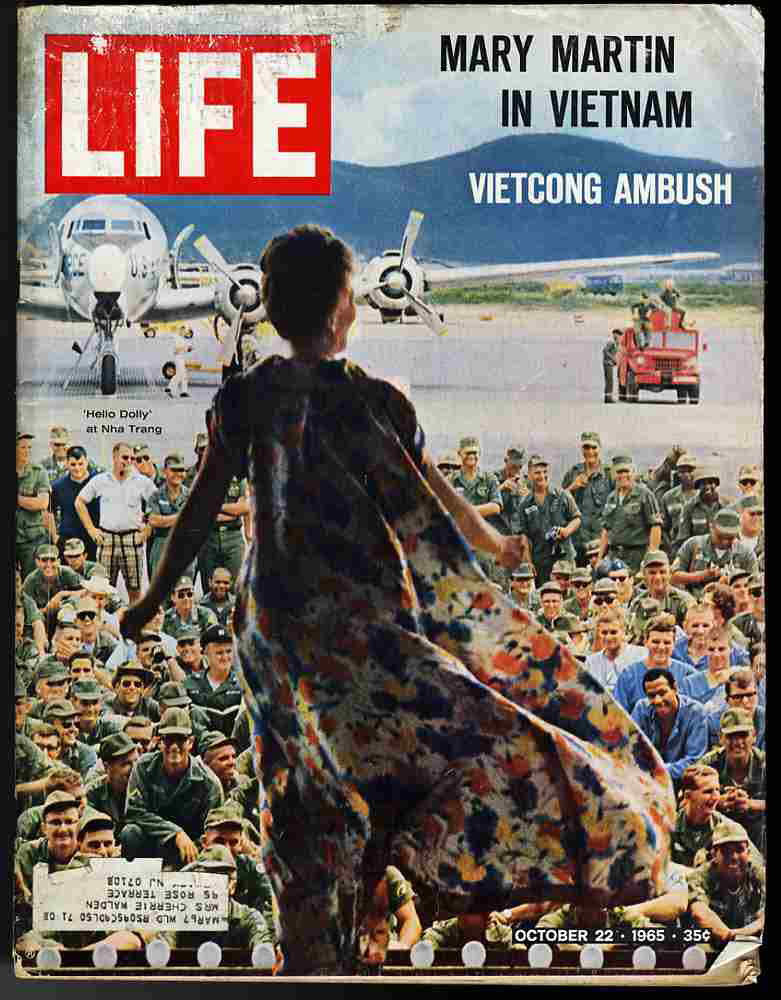 Image result for when did mary martin appear on life magazine cover