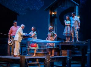 The cast of 'The River Bride' by Marisela Treviño Orta at Arizona Theatre Company. (Photo by Tim Fuller)