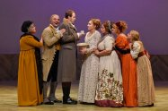 """""""Sense and Sensibility,"""" adapted by Kate Hamill from Jane Austen, at Dallas Theater Center through May 24."""
