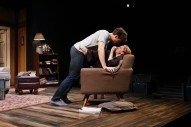 """Sex With Strangers"" by Laura Eason, at Cincinnati Playhouse in the Park through Oct. 25. Pictured: Nicholas Carrière and Nancy Lemenager."