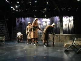 """Slaughterhouse Five"" by Kurt Vonnegut, at Book-It Repertory Theatre in Seattle through July 3."