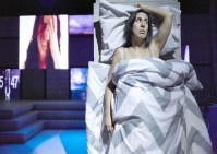 """""""The Patron Saint of Losing Sleep"""" by Diana Grisanti, at Actor's Theatre of Charlotte in Charlotte, N.C., through Sept. 26."""