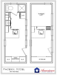 Tiny House Plans on Wheels - American Tiny House