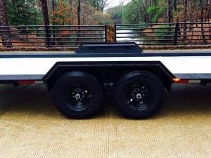 American Tiny House - Side Tandem Axle Wheels